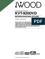 Bda Ken Kvt920dvd