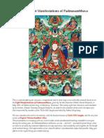 The Eight Manifestations of Padmasambhava