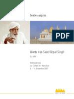 Worte von Sant Kirpal Singh 1-2008