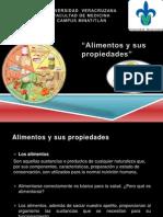 Alimentos y Sus Propiedades