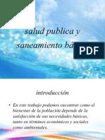 salud publica y saneamiento básico