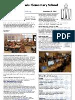 Dec 19, 2008 Lewis Newsletter