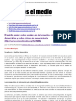 14 ColumnaSomos el medio El 5ºpoder_ reds socials d información refrendabilidad democrática y reds cívicas