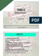 TEMA 8 ESTRUCTURAS 20112012 1a Parte Modo de Compatibilidad