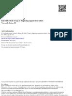 Barkers_Traps in Diagnosing Failure