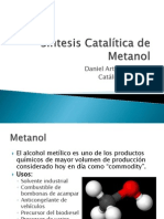 Síntesis Catalítica de Metanol