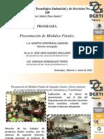 informe de presentación de modulos.
