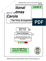 RC - Traditional Christmas Carols - Lvl C - 2-Voice  RC v7.4   1307-14a