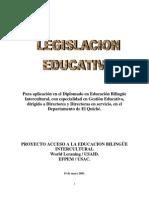 Módulo Legislacion Educativa