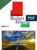 MQM Budget 2012-13 a Power Point Presentation