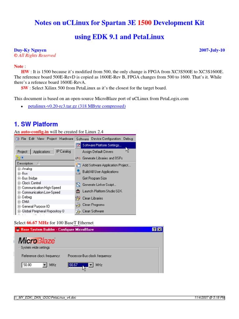 PetaLinux_v4 | File System | Computer File