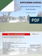 School Donation Keynote