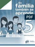 En Familia Tambien Se Aprende 2011 Quinto