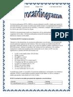 Electrocardiogram A