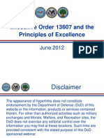 Executive Order 13607 - Establishing Principles of Excellence for Educational Institutions Serving Veterans
