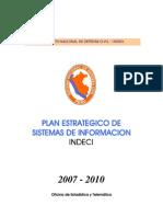 Plan Estrategico Sist Infor. Indeci 2007-2010