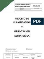 Proceso de Planificacion y Orientacion Estrategica