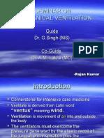 mechanical ventilators in icu:-an approach