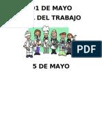 Efemerides de Mayo