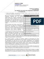 33 CDM ICT Busca Posicionar Destino en Nicho de Congresos, Reuniones e Incentivos