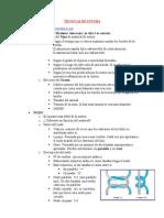 TÉCNICAS DE SUTURA (1)