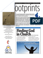 June 2012 Footprints Newsletter