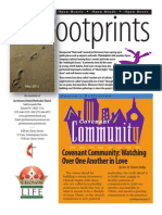 May 2012 Footprints Newsletter