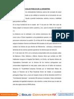 EVOLUCIÓN DE LA SALUD PÚBLICA EN LA ARGENTINA