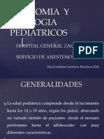 Anatomia y Fisologia Pediatricos