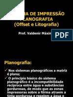 Produção gráfica- Planografia