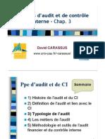 Typologies de l'Audit