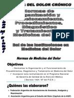 NORMAS EN MEDICINA DEL DOLOR - CARRERA UBA - impresión
