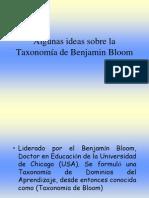 Algunas Ideas Sobre La Taxonomia de Benjamin Bloom 2