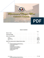 DFA Citizen's Charter - 23 July