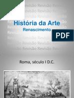 História da arte - Revisão renascimento