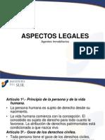 Agentes Inmobiliarios - Aspectos Legales Abr2011