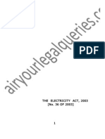 Electricity Act, 2003