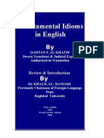 Fundamental Idioms in English