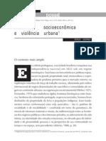 Sergio Adorno - Exclusão socioeconomica e violência urbana