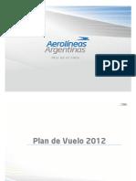 Presentacion Plan de Vuelo Junio 2012