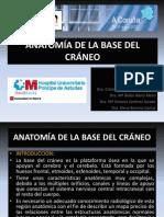 Anatomia de La Base Del Craneo