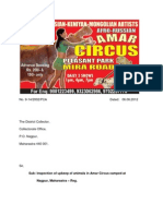 Another semi blind Hippo and ban Bull are being abused by the Affro Russian Amar Circus in Nagpur