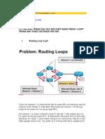 Các giải pháp chống LOOP trong distance vector