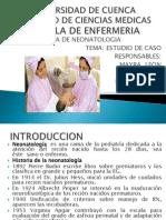 Estuduio de Caso UNIVERSIDAD de CUENCA Neonatalogia