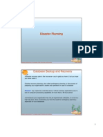 12.- Disaster Planning