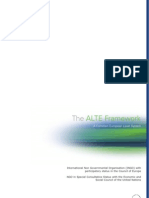 ALTE Framework English