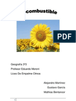 biocombustibles 3º3   Gustavo Garcia, Mathias Bentancor, Alejandro Martinez