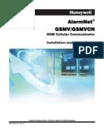 Honeywell GSMV Install Guide