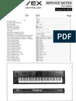 Roland a-90_EX Service Manual