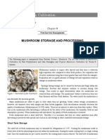 Mushroom Storage and Processing